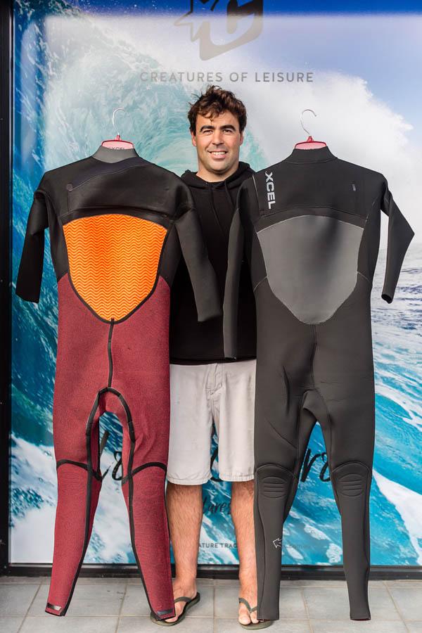 Xcel Infiniti x2 3_2mm Wetsuit Steamer Inside _ Out Back